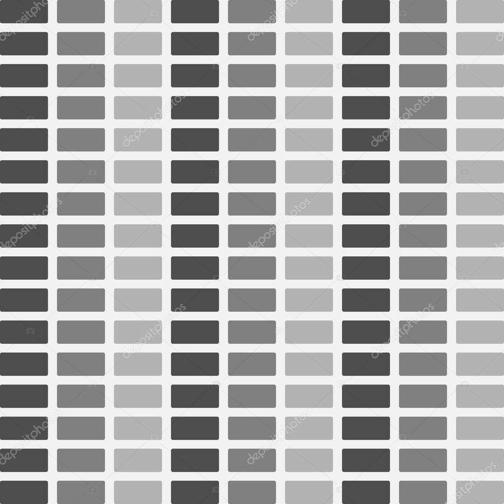 レンガの壁のテクスチャ パターン シームレスなベクトル イラスト
