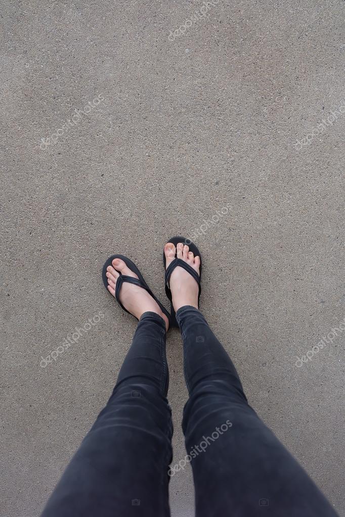 Mädchenbeine