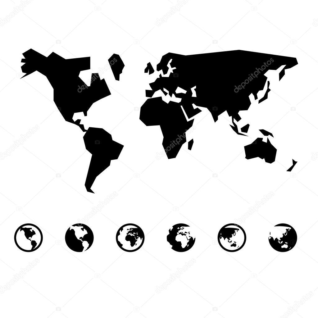 World map vector stock vector yayha 63031823 world map vector stock vector gumiabroncs Gallery