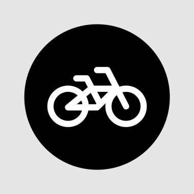 Bicycle icon sign vector