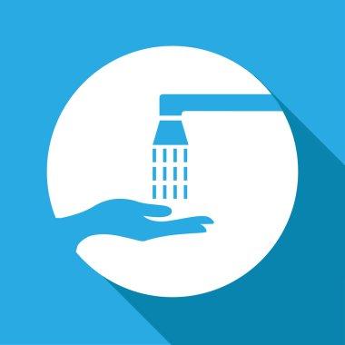 Vector wash your hands sign, Illustration EPS10
