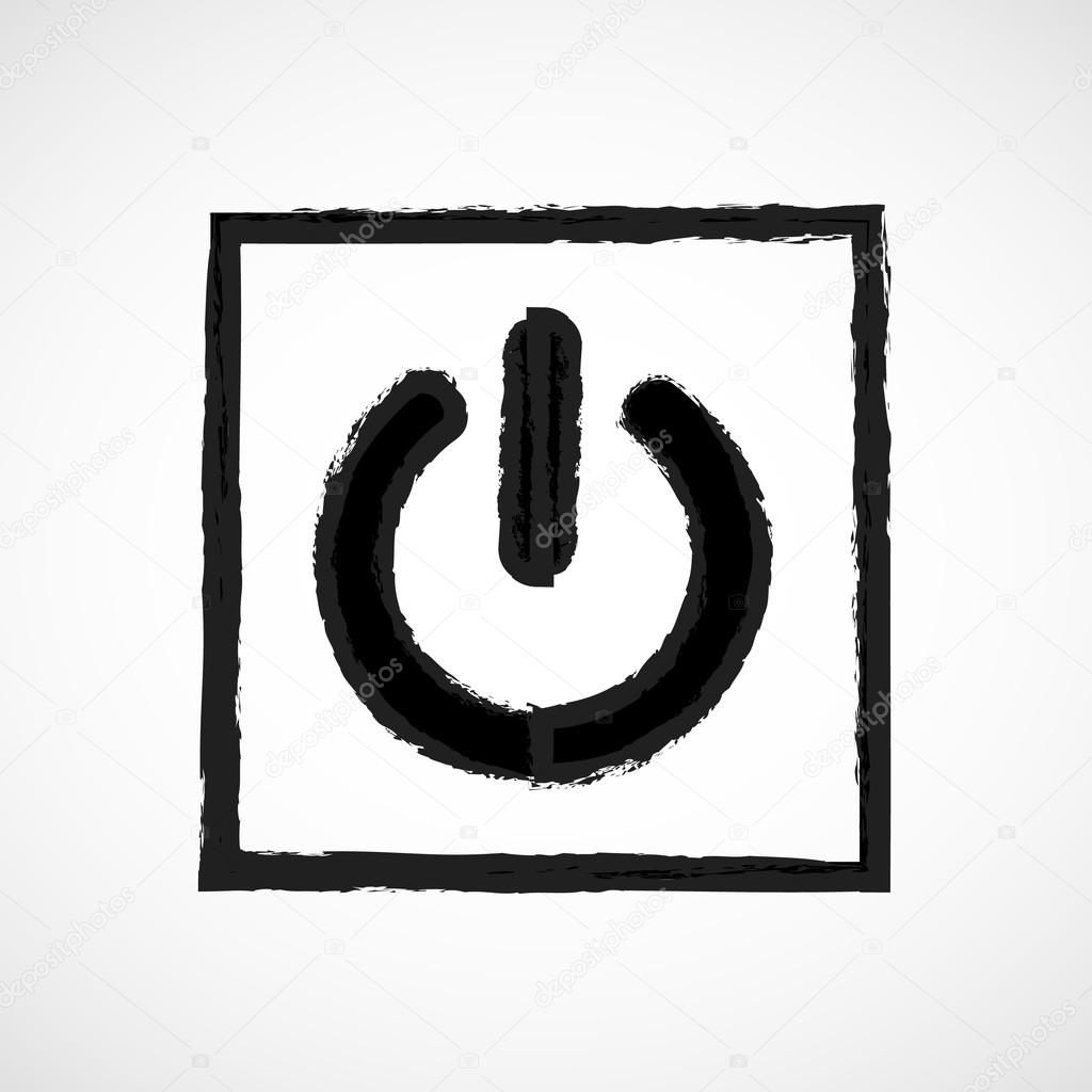 Vector Power Sign Icon Switch On Symbol Turn Energy Illustration Eps10 Great For Any Use By Yayha