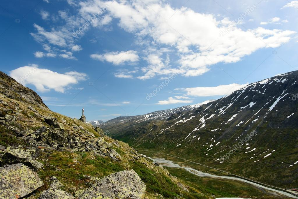 Norwegian mountains and nature