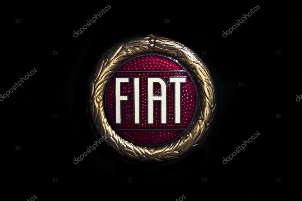 Retro Fiat Car Logo Stock Editorial Photo Belish 120510232