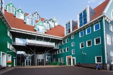 Zaandam Central Railroad Station, Netherlands