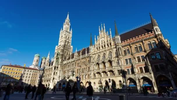 Das Rathaus in München