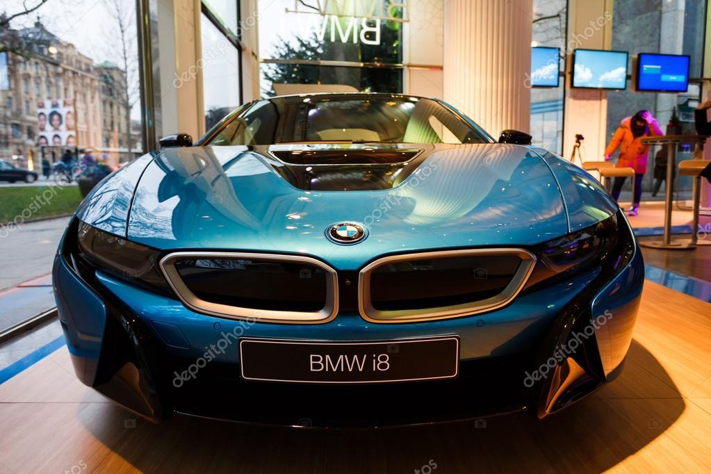 Bmw I8 Hybrid Sports Car Stock Editorial Photo C Castenoid 98079568