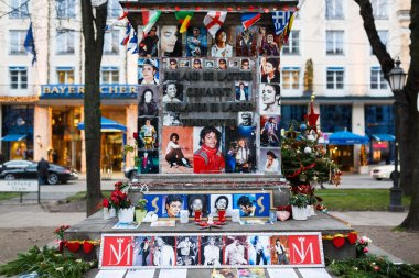 Memorial of Michael Jackson in Munich