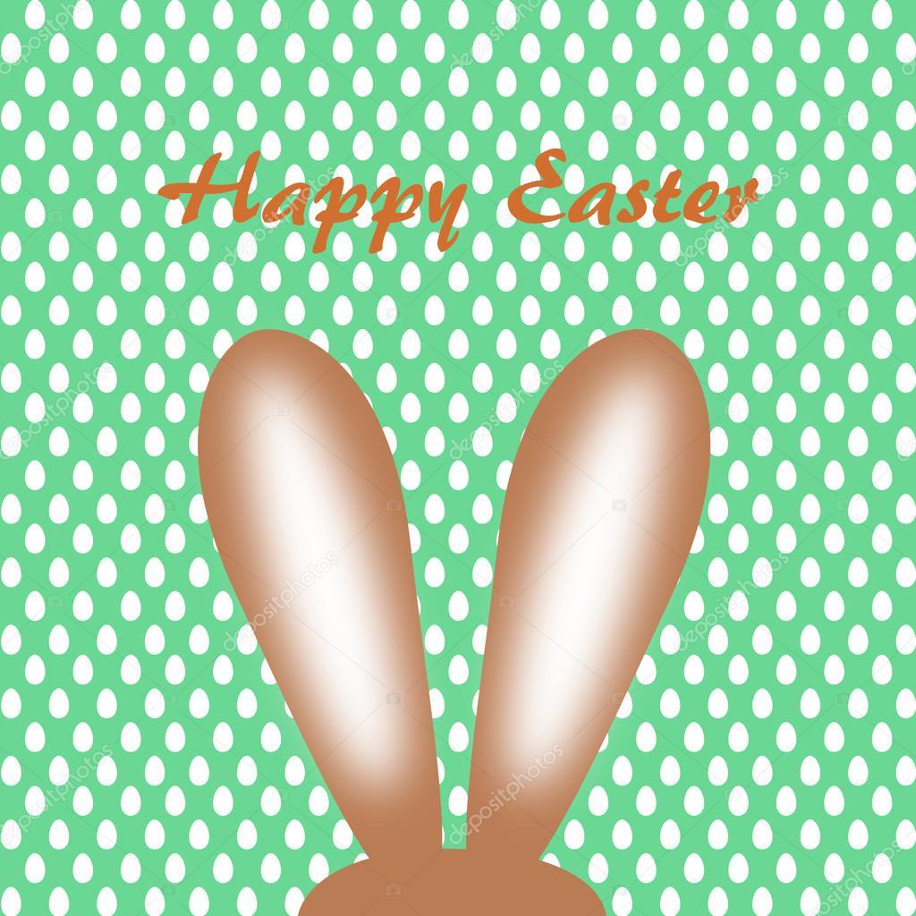 Orecchie del coniglietto di pasqua con le scritte in - Lettere stampabili del coniglietto di pasqua ...