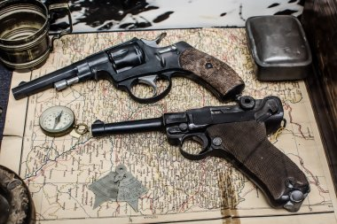 composition of two revolvers on the map