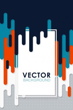 vector abstract background with paint pouring around triangle rectangle