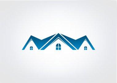 Home Business Logo House Modren  icon Building Vector
