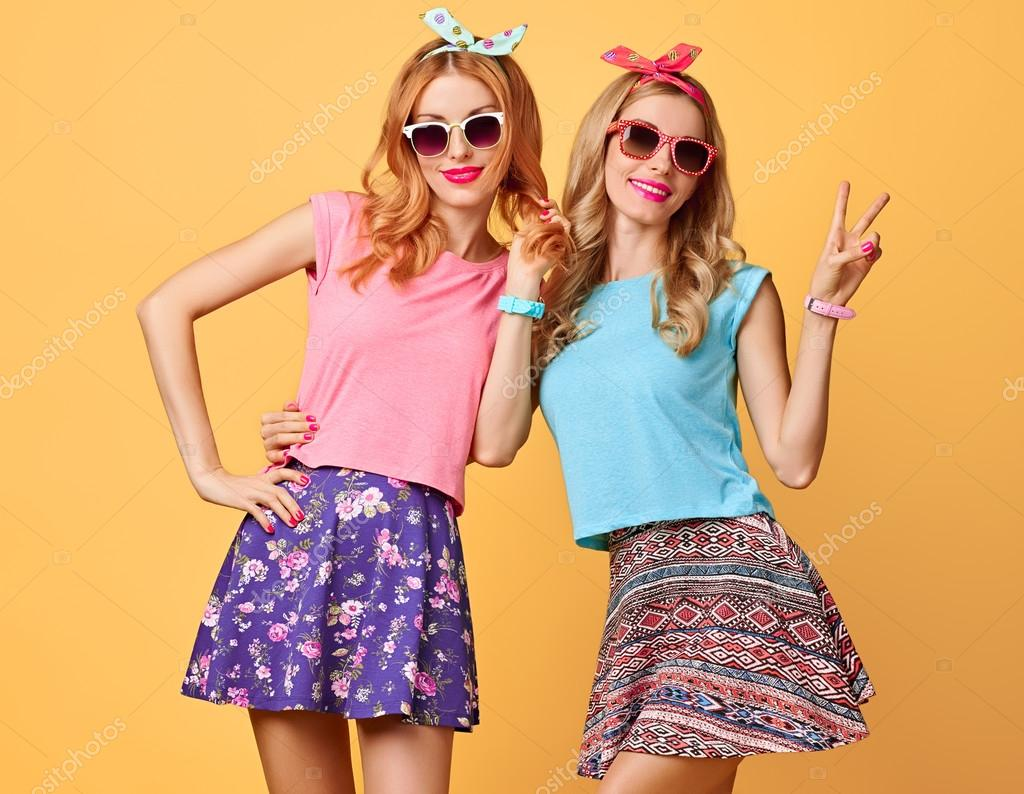 Funny girl friends