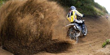 Motocross Driving Race Motorbike