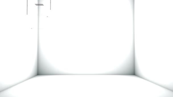 Kus nábytku s prosklenými dveřmi