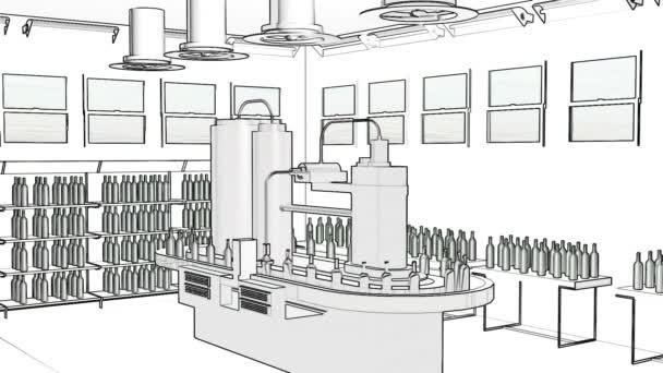 Bottling line equipment advertising