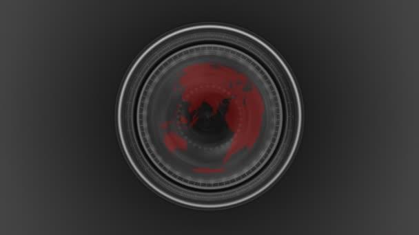Global warming seen through a camera lens
