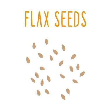 Flax seeds.