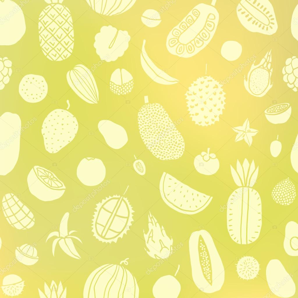 Tropic fruit background.