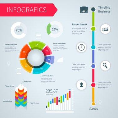 Modern infographics set.