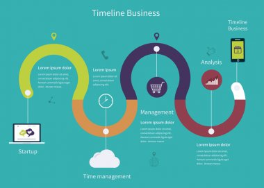Timeline Infographic business