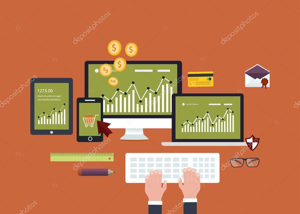 Mobile marketing, online shopping