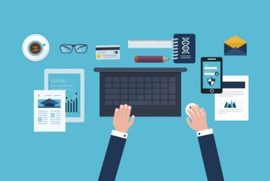 Business workflow and electronic devices