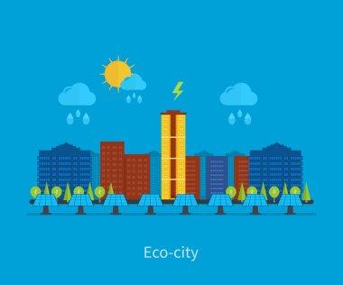 Eco City landscape design