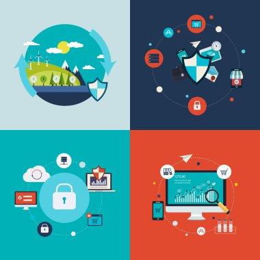 Social network security, concept