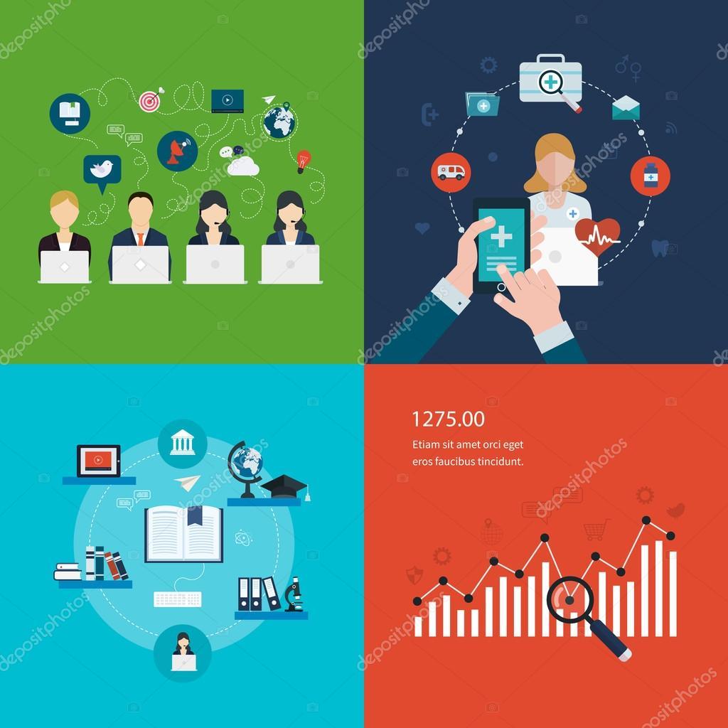 Project management, strategic planning concept