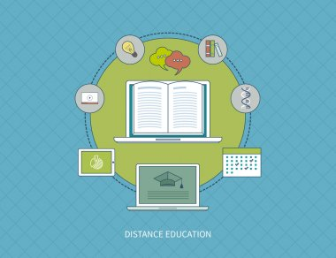 Online education and e-learning.