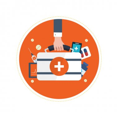 concept for health care, medical help