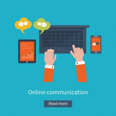 online communication and social media