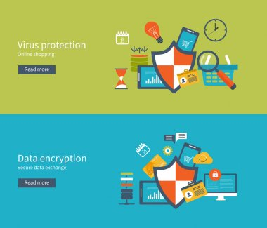 Data protection set with encryption secure