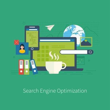 engine optimization and web analytics elements