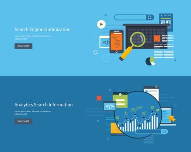 engine optimization and web analytics elements