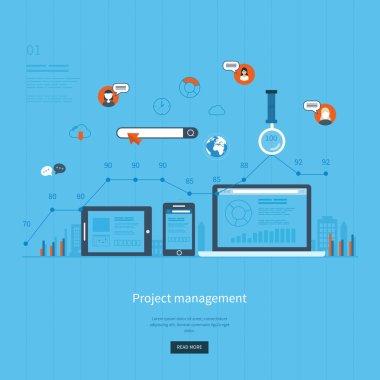 concept for e-business, web