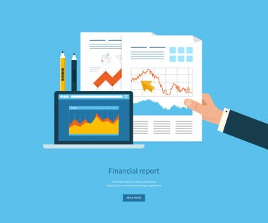 Business analysis, financial report