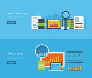 concepts for business analysis, financial report