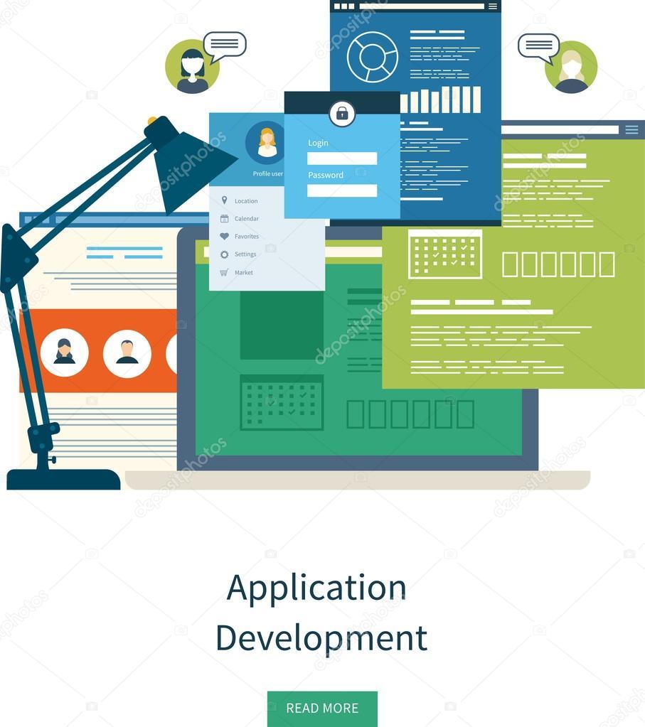 concept for e business web sites ストックベクター ideyweb 79800606