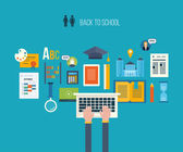 distance education and e-learning icons