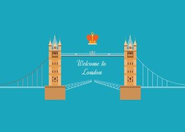 London, United Kingdom flat icon