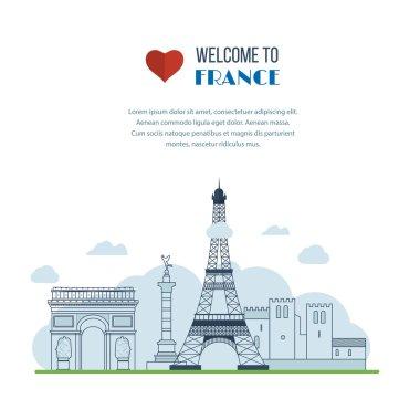 French destinations set
