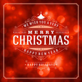 Fényképek Karácsonyi retro tipográfia
