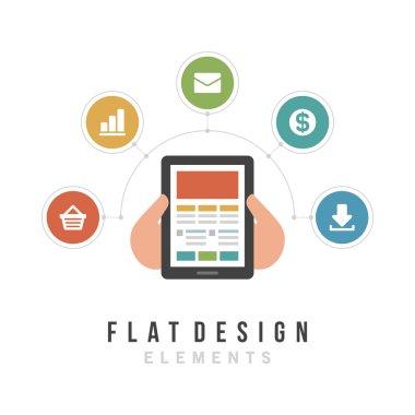 Business and social media design.