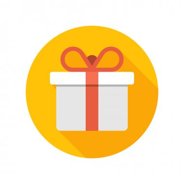 Gift Box with Bow icon