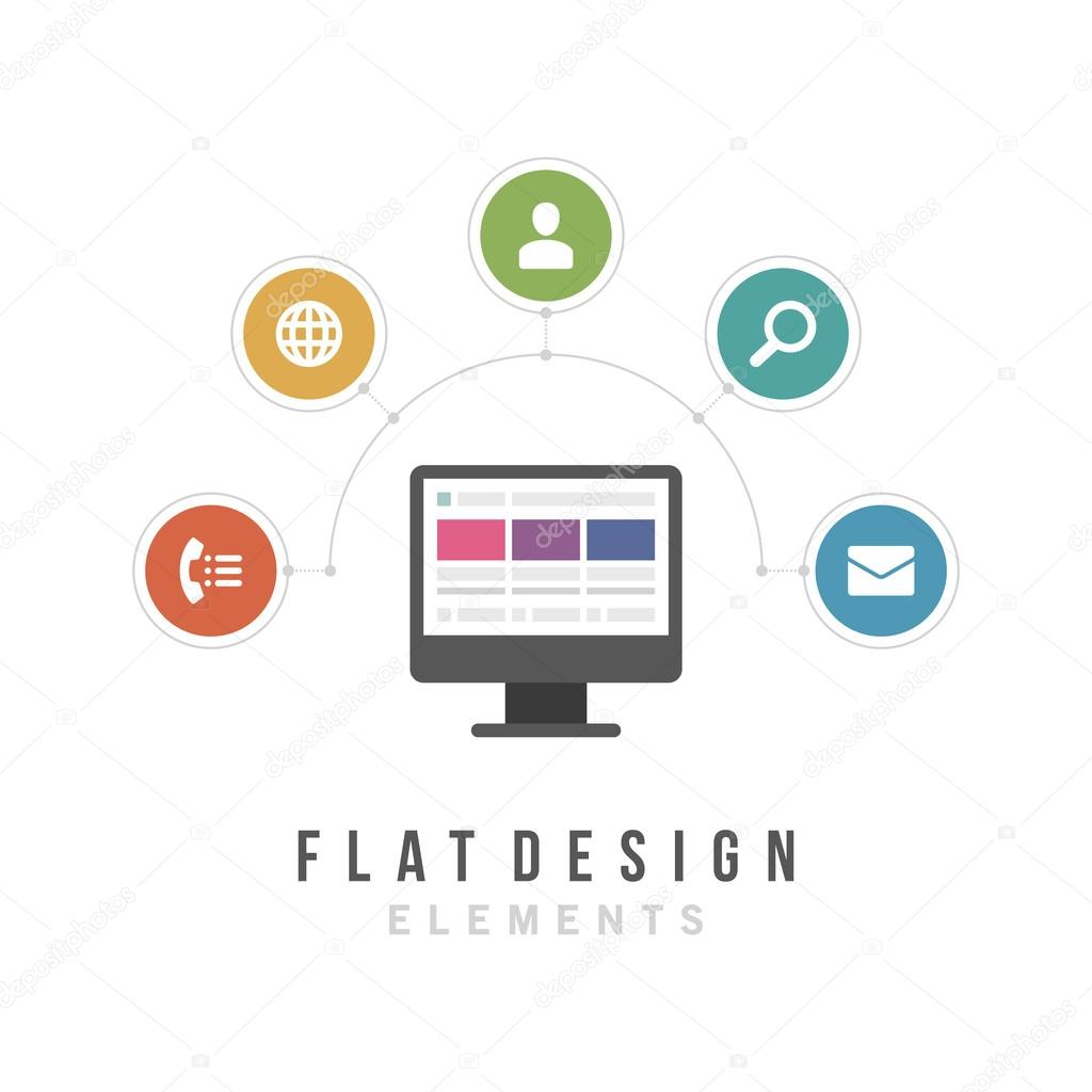 Business and social media design