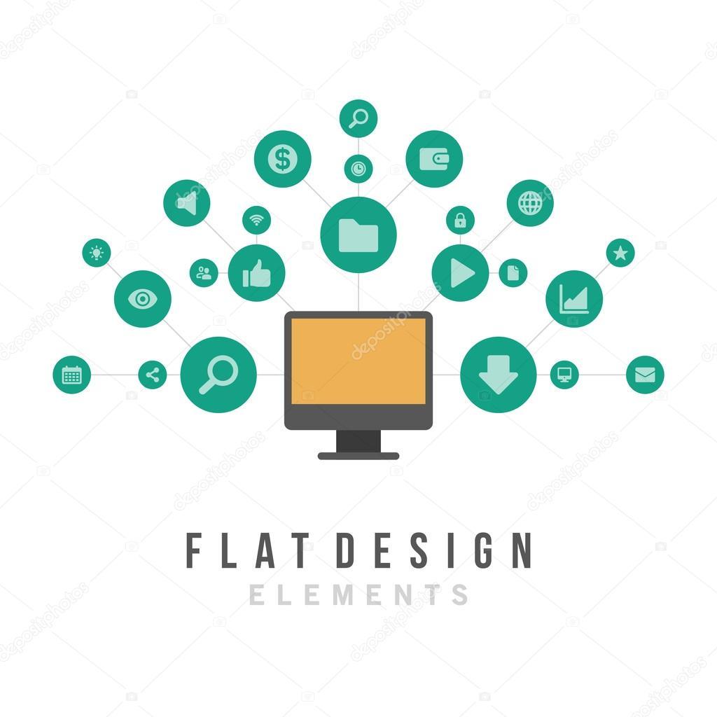 Social media design elements