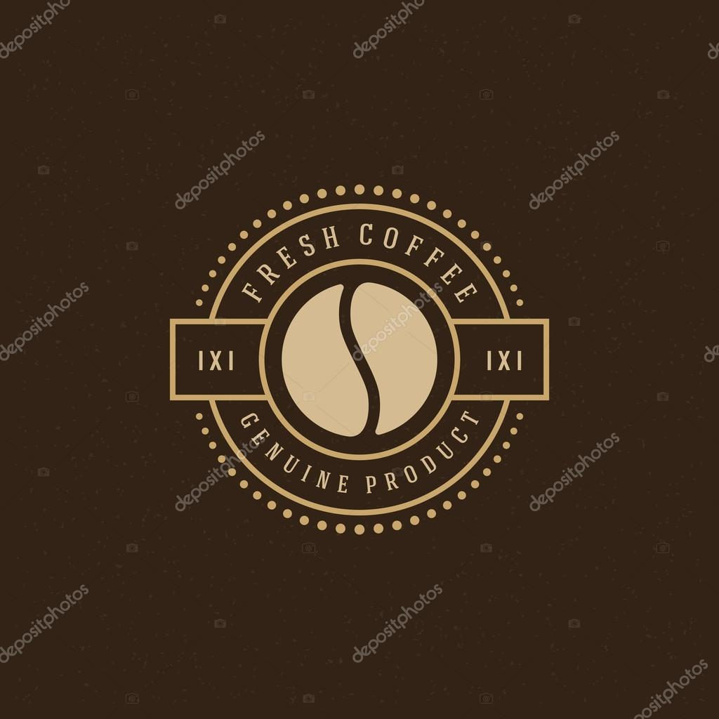 Coffee Shop Logo-Design-Element — Stockvektor © Provectors #83194470