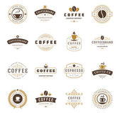 Fotografie Coffee Shop Logos
